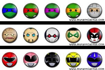 5 Button Sets