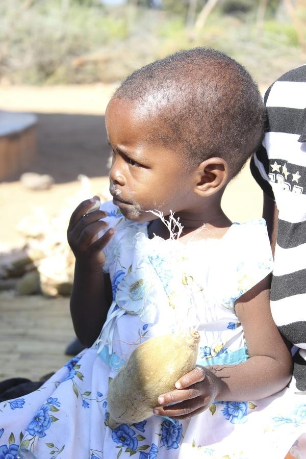 She loves her baobab!
