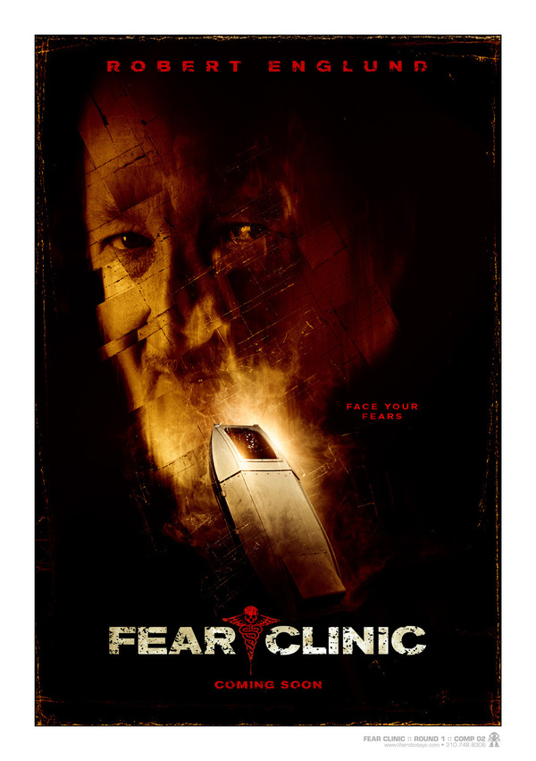 fear clinic movie poster version 2