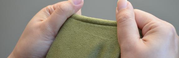 premium 200g micro-suede cover fabric