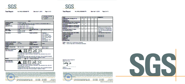 QiPillow's quality is strictly checked and assured by SGS