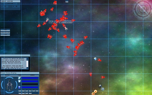Strategic View - watching a fleet fight on tactical map