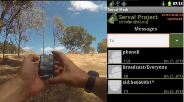 Banner Frame for Serval Mesh 0.90RC Demo Video