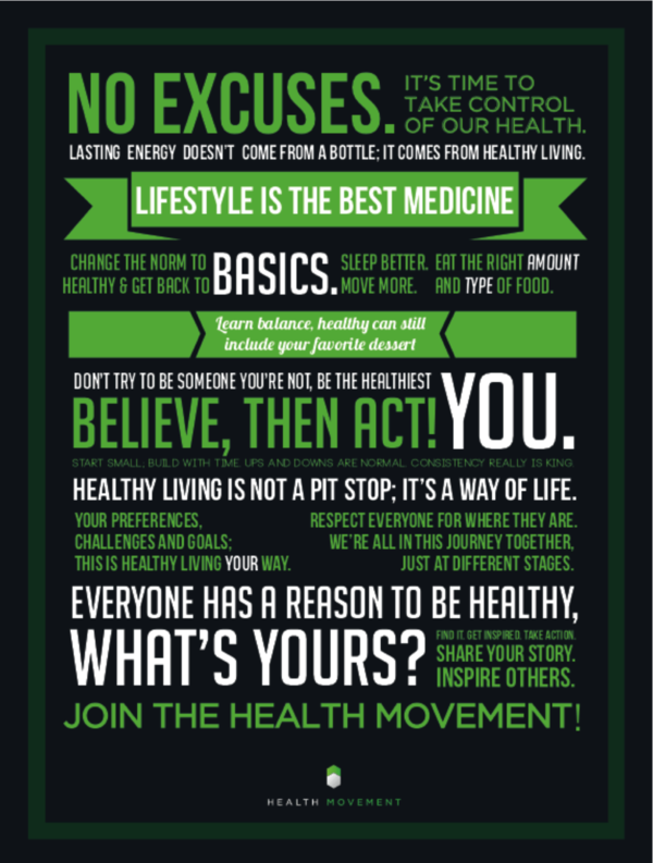 Join The Health Movement Healthy Living YOUR Way
