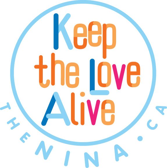 The Keep the Love Alive logo as it will appear on buttons.