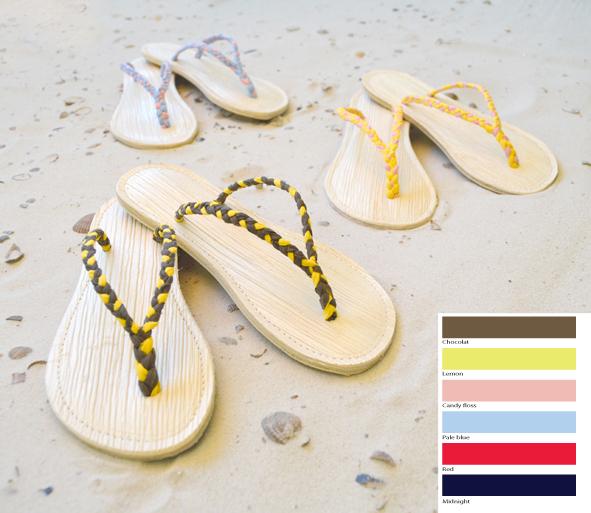 Palmetti thong sandal