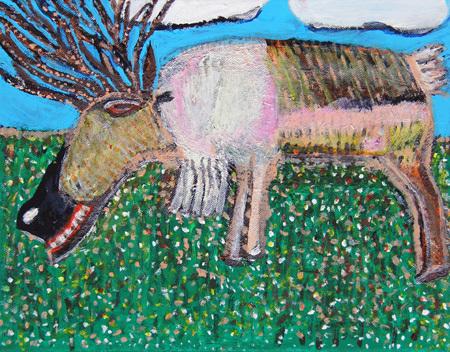 """""""Caribou"""" by Bruce Bazinet"""