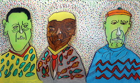 """Grumpy Men"" by Linda Vincent"