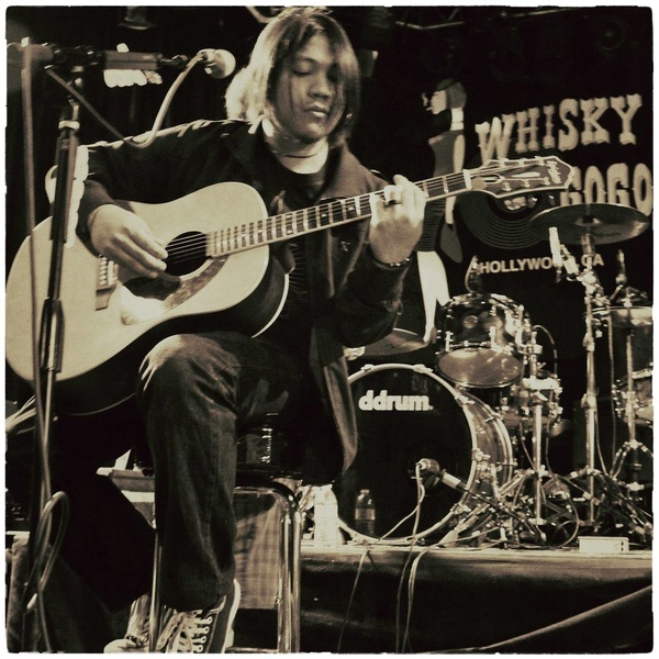 Otan Vargas performing at the world famous Whiskey A Go Go in Hollywood, CA for the Battlefield of the Mind Documentary Film Premiere.