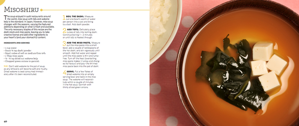 Miso soup basic recipe