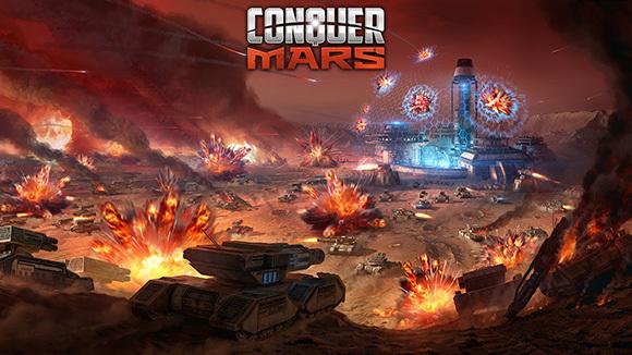 Mars Surface Battle