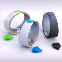 Amiigo: Fitness Bracelet for iPhone and Android