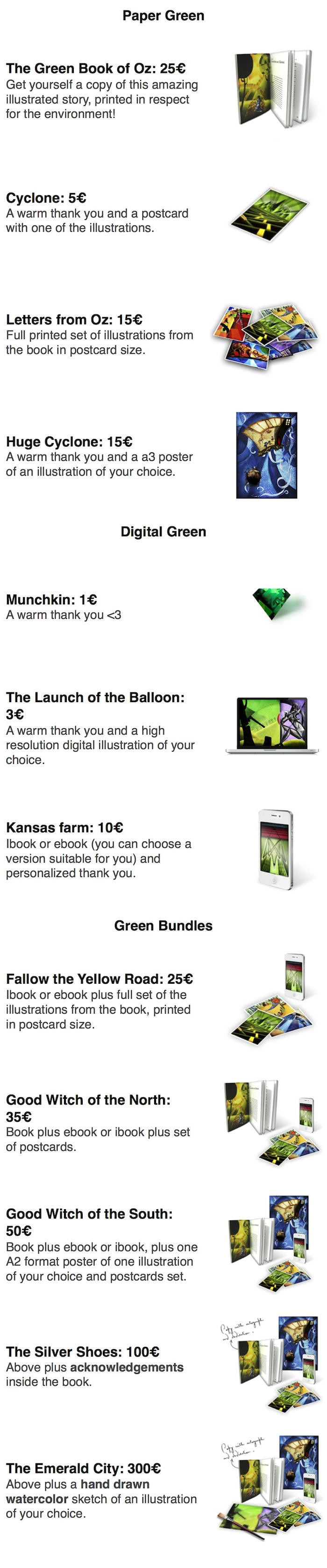 The Green Book Of Oz An Eco Friendly Illustrated Book Indiegogo