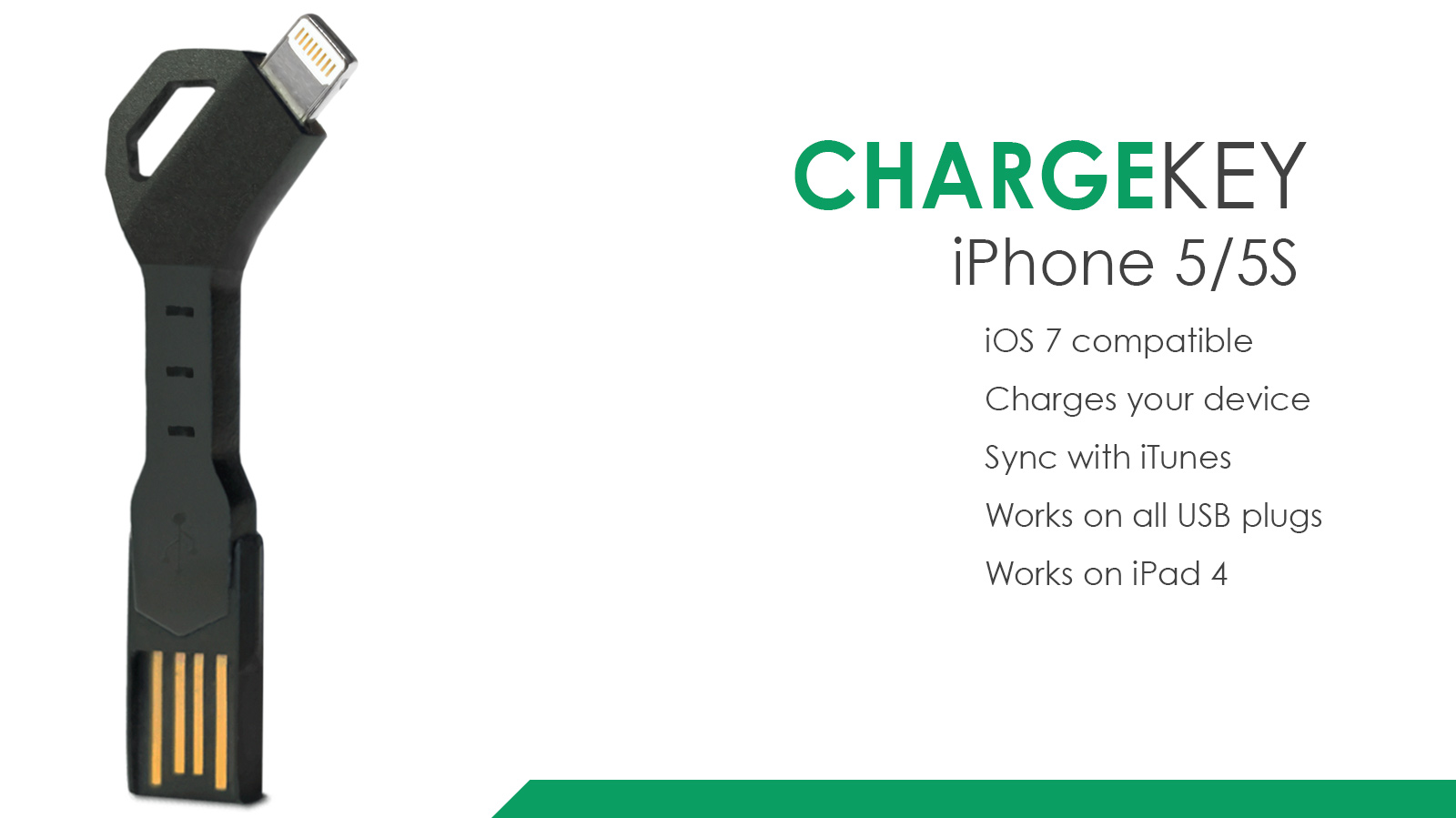 Chargekey For Iphone And Android By Nomad Indiegogo