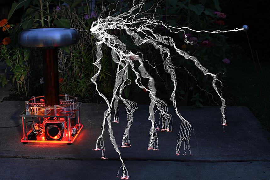 Plasmasonic: High Power Musical Tesla Coil | Indiegogo