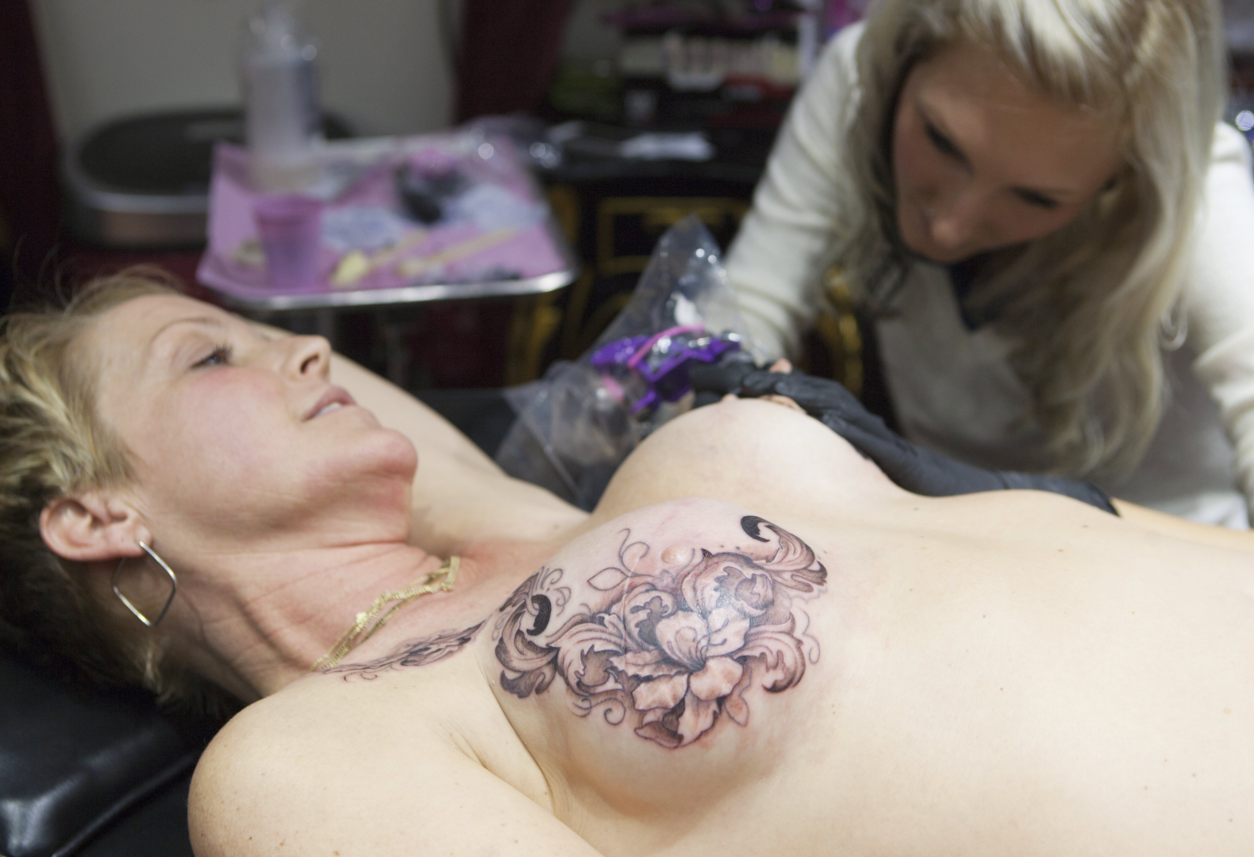 a481e8b4c We think that covering these scars with a different kind of mark—a tattoo—can  not only help mastectomy patients reclaim their bodies, but also turn ...