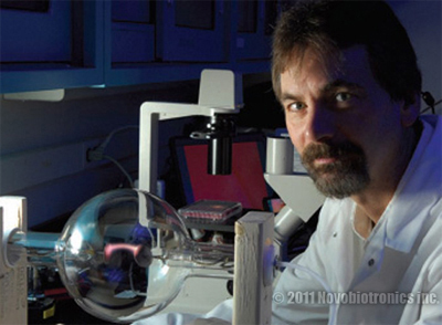 Anthony Holland Discovered Ability of PEFT to Shatter Cancer Cells!