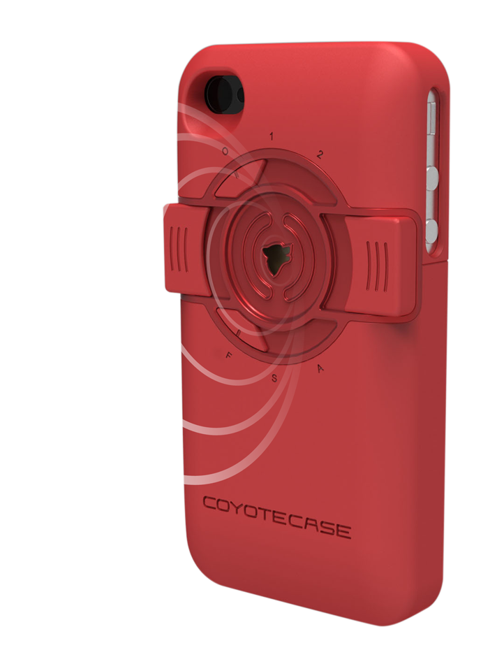 Coyote Case in Red