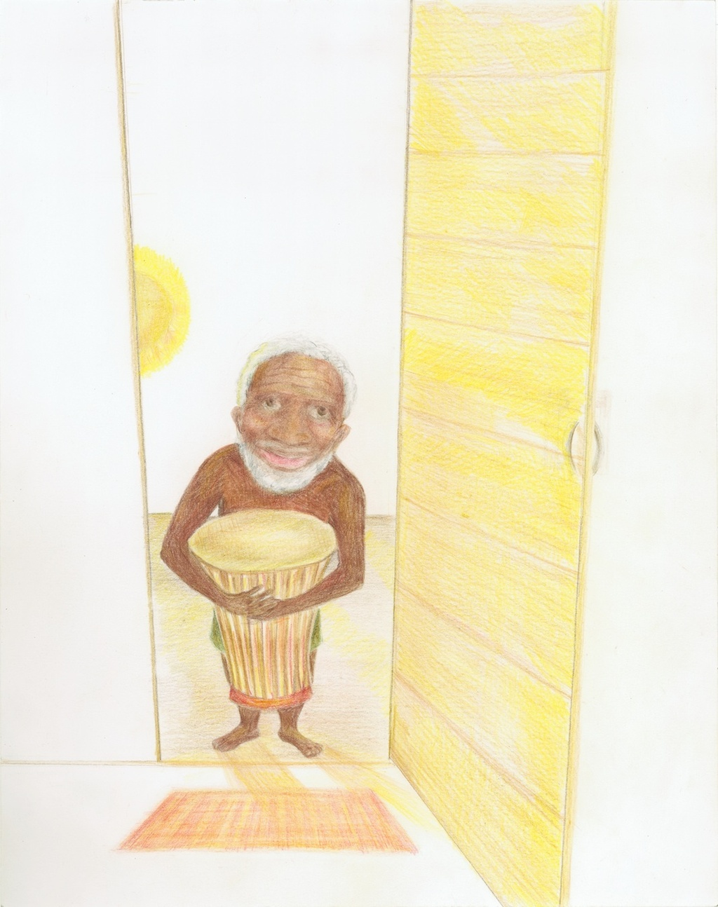 Old man and the drum