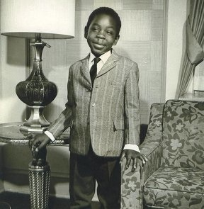 Young Milton in Washington, D.C.