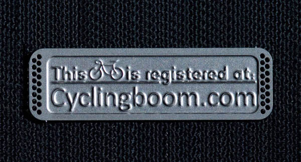 Free Bicycle Tag