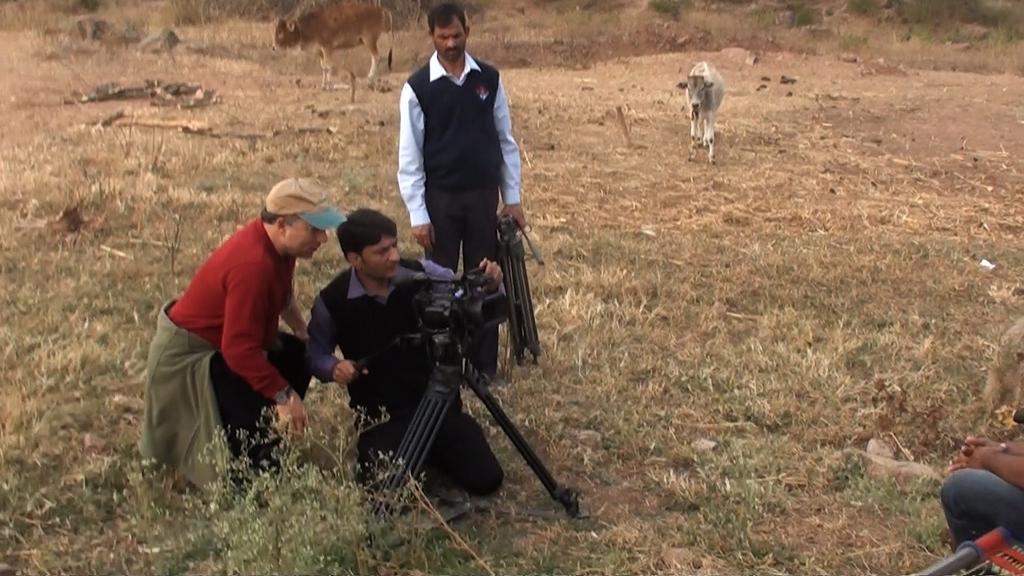 Robert Filming in Pakistan